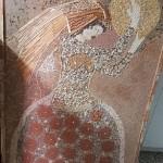 רות המואביה מהיצירות של האמן מלך ברגר